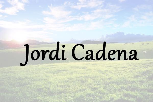 Jordi Cadena Noves. Alt Urgell